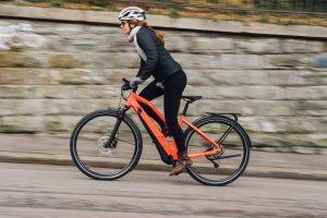 Activité physique en vélo-electrique